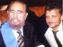 Fidel Castro con Massimo Ferrero... qualche anno fa