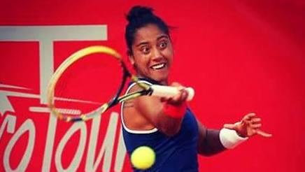 Daniela Seguel, 24 anni, tennista cilena numero 233 del ranking DA FACEBOOK