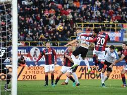 Il raddoppio di Kurtic a Bologna. Getty Images