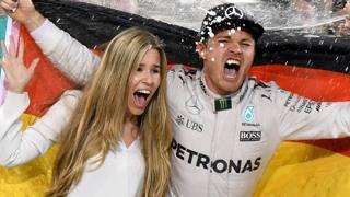 Il giorno di Rosberg: che festa il nuovo campione!