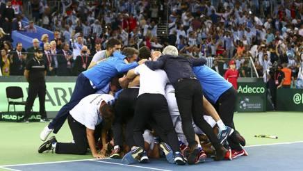 Mucchio selvaggio: è il primo trionfo argentino. Reuters