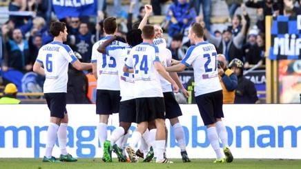 Dopo la serie di sei vittorie di fila in campionato l'Atalanta sfida il Pescara in coppa Italia. LaPresse
