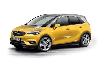 Opel lancia l'offensiva: sette modelli nel 2017