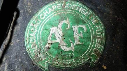 L'immagine dello stemma della Chapecoense, postata dal Torino sul proprio sito ufficiale.
