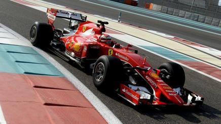 Kimi Raikkonen con le gomme Pirelli 2017