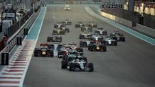 Un passaggio del GP di Abu Dhabi. LaPresse
