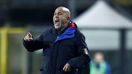 Luigi Di Biagio, tecnico dell'Under21 azzurra. LaPresse