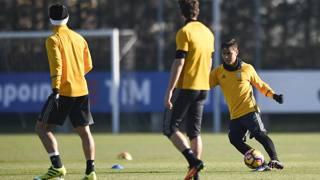 Juve, Dybala torna ad allenarsi coi compagni