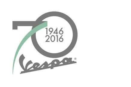 Il logo della Vespa 2016