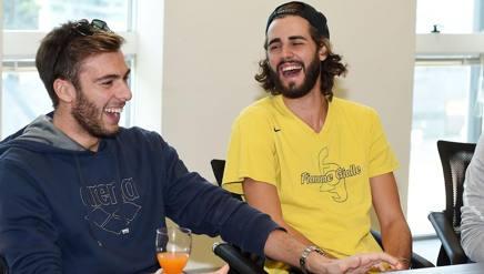 Gregorio Paltrinieri e Gianmarco Tamberi insieme in Gazzetta. Bozzani