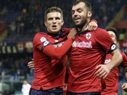 Goran Pandev, 33 anni, oggi al Genoa. LaPresse