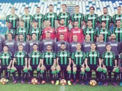Ecco la foto ufficiale del Sassuolo con i calciatori e i tecnici: Berardi non c'è