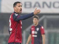 Marco Borriello, attaccante del Cagliari. LaPresse