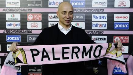 Eugenio Corini, nuovo tecnico del Palermo. LaPresse