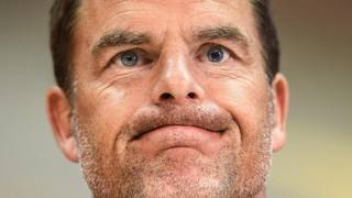 Franck De Boer, 46 anni.