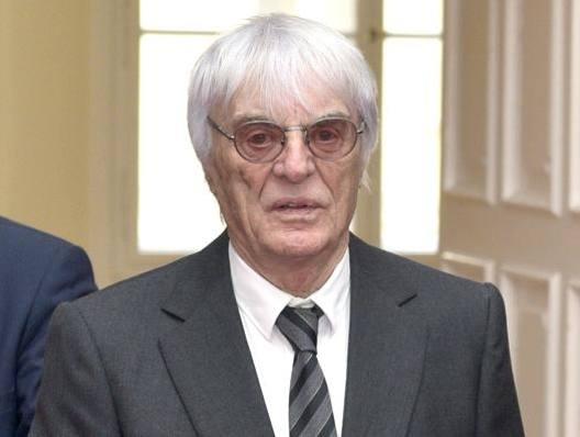 Bernie Ecclestone,86 anni. Afp
