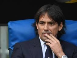 Il tecnico della Lazio Simone Inzaghi. Ansa