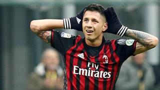 Gianluca Lapadula, match winner del Milan. Reuters