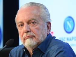 Aurelio De Laurentiis, 67 anni.  Ansa
