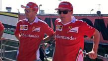 Sebastian Vettel e Kimi Raikkonen a Daytona per le Finali Ferrari