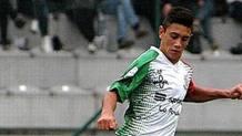 Alex Cossalter, 16 anni, attaccante dell'Union Feltre.