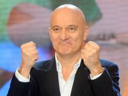Claudio Bisio, 59 anni, attore e tifoso milanista. LaPresse