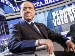 Il presidente del Milan Silvio Berlusconi. Ansa