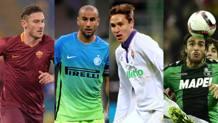 Totti, Palacio, Chiesa e Matri: protagonisti in Europa League.
