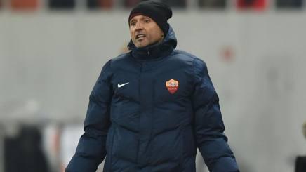 Luciano Spalletti, allenatore della Roma. Afp