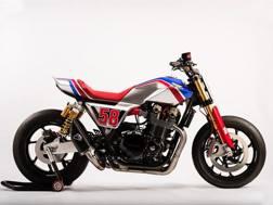 La CB1100TR Concept col 58 di Marco Simoncelli