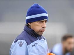 L'allenatore della Lazio, Simone Inzaghi. Getty