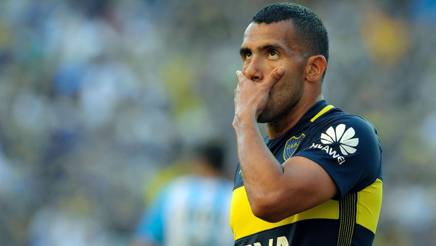 Carlos Tevez, 32 anni. Afp