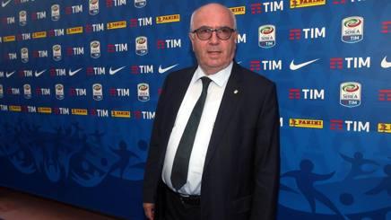 Il presidente della Federcalcio, Carlo Tavecchio. Ansa