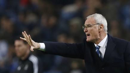 L'allenatore del Leicester, Claudio Ranieri. Reuters