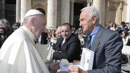 Abdon Pamich e papa Francesco