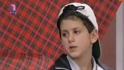 Novak Djokovic a 7 anni