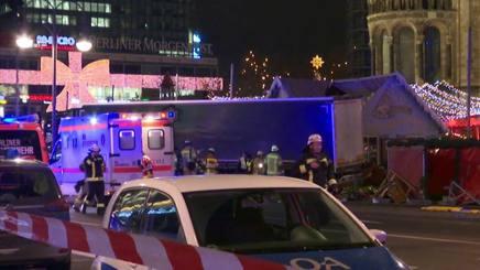 Il camion in Breitscheidplatz
