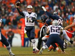 Tom Brady, 39 anni, quarterback di New England, che ha centrato il 13° titolo della AFC East nelle ultime 14 stagioni AP