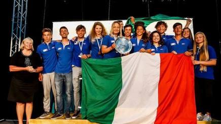 L'Italia sul podio di Auckland