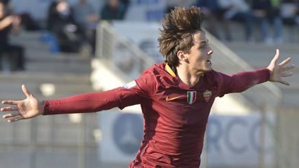 Edoardo Soleri, 19 anni, attaccante della Roma