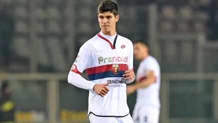 Pietro Pellegri, 15 anni, attaccante del Genoa. LaPresse