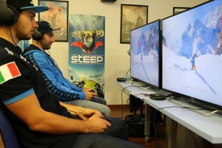 Omar Visintin ed Emanuel Perathoner si sfidano virtualmente