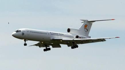 Un Tupolev Tu164 simile a quello inabissatosi nel Mar Nero. Epa