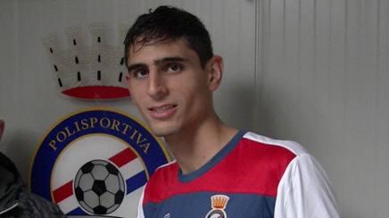 Mariano Fazio, 22 anni, fratello minore di Federico, difensore della Roma POLISPORTIVA CITTA' DI CIAMPINO