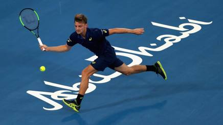 David Goffin, 26 anni, sfiderà in semifinale Andy Murray. Getty