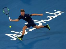 David Goffin, 26 anni, sfiderà in semifinale Andy Murray. Getty