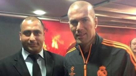 Fatih Çakmak con Zidane.