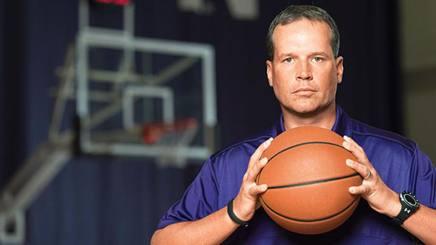 Chris Collins, coach di Northwestern University .