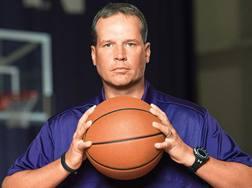 Chris Collins, coach di Northwestern University . Twitter