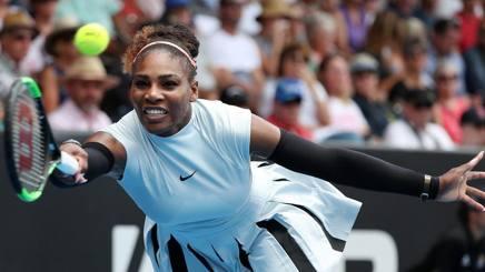 Serena Williams, 35 anni, numero 2 al mondo GETTY